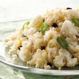Cauliflower and Couscous Pilaf