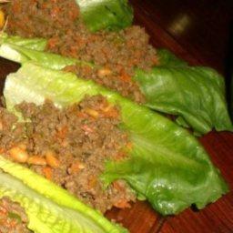Ccs' Beef Lettuce Cups