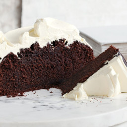 Celebrate St Patrick's Day with Guinness chocolate cake and creme fraiche t