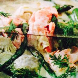 Celebration saucy salmon