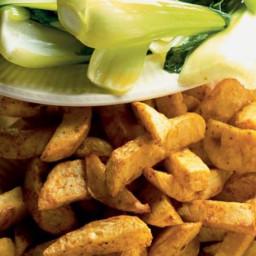 Celeriac oven chips