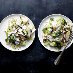 Celery, Apple, and Almond Salad