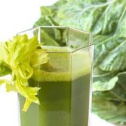 Celery Cucumber Lemon Apple Kale Ginger Juice
