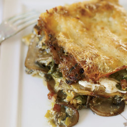 Celery Root and Mushroom Lasagna