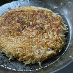 Celery Root Rösti (hash browns)