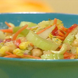 Celery Succotash Salad