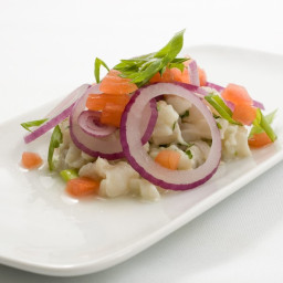 Ceviche of Red Snapper
