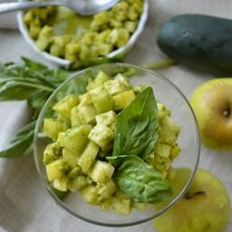 """""""Ceviche"""" verde o ensalada de manzana"""