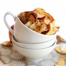 Chai Apple Chips