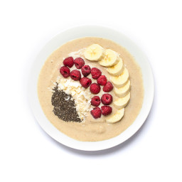 Chai Tea Smoothie Bowl {Healthy New Year 6-Week Challenge Kick-off!}