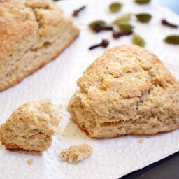chai spiced scones