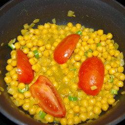 Chana Masala (Garbanzo Bean Curry)