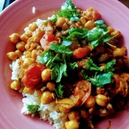Chana Masala (Hardip's Chickpea Curry)