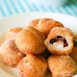 Chapssal Donuts (Korean Glutinous Rice Ball Doughnuts)