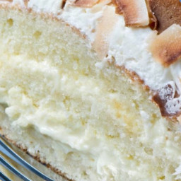 Charleston Coconut Cake