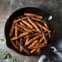 Charred Baby Carrots