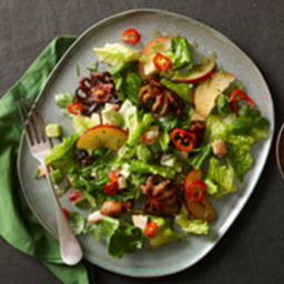 Charred Baby Octopus Salad with Cumin-Lime Vinaigrette