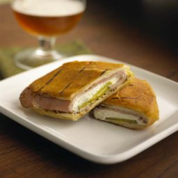 Chavrie Goat Cheese Cuban Sandwich