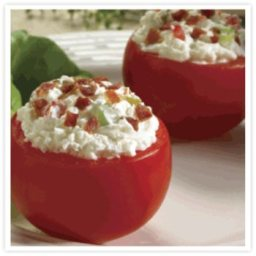 Chavrie Goat Cheese Stuffed Tomatoes