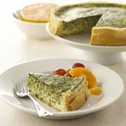Chavrie Spinach Quiche