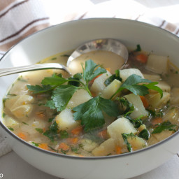 Chayote Chicken Soup