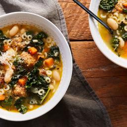 Cheaters Italian Wedding Soup