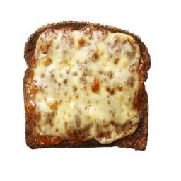 Cheddar and Chutney Toast