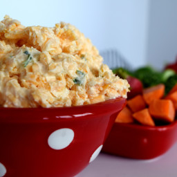 Cheddar Cheese Green Onion Dip