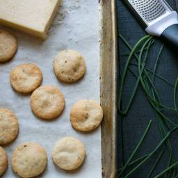 Cheddar Chive Crackers