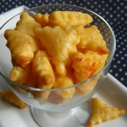 Cheddar Crackers or Goldfish Crackers