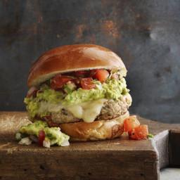 Cheddar Jalapeno Turkey Burgers