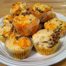 Cheddar Sausage Muffins