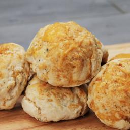 Cheddar-stuffed Cheddar Biscuits Recipe by Tasty