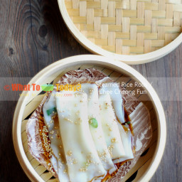 CHEE CHEONG FUN / STEAMED RICE ROLLS (8-10 rolls)