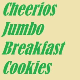 Cheerios Jumbo Breakfast Cookies