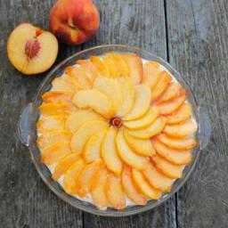 Cheerios™ Peach Cake