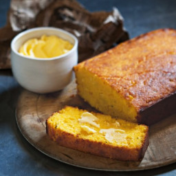 Cheese and chive cornbread