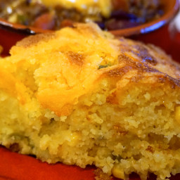 Cheese and Jalapeño Cornbread