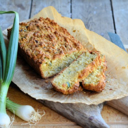 Cheese and Onion Scone Bread (Loaf)