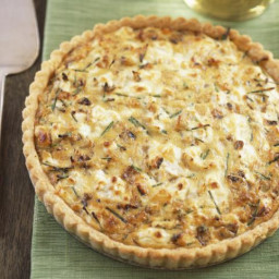 Cheese and Sausage Quiche