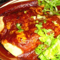 Cheese & Chicken Enchiladas