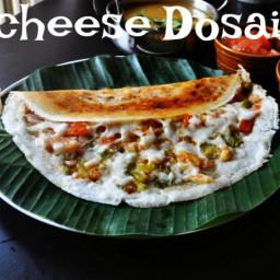 cheese dosa recipe, crispy cheese dosai (street style)