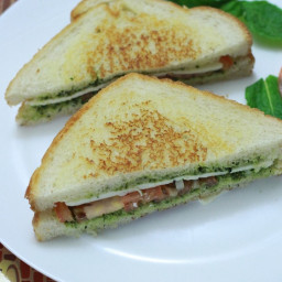Cheese Sandwich recipe   How to Make Cheese Sandwich