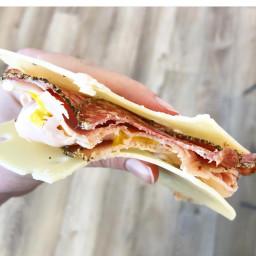 Cheese sandwich snack