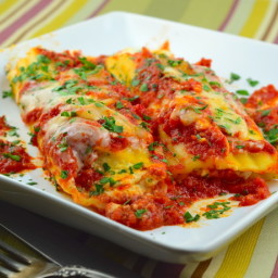 Cheese Stuffed Manicotti