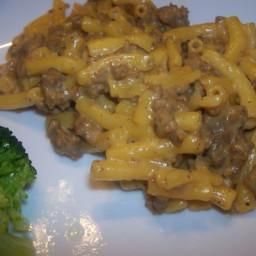 Cheeseburger mac and cheese