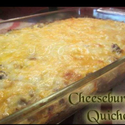 Cheeseburger Quiche (LOW CARB!!)