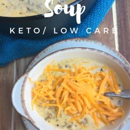 Cheeseburger Soup {Keto / Low Carb}