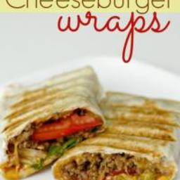 Cheeseburger Wraps Recipe