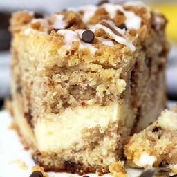 Cheesecake Banana Bread Crumb Cake